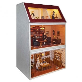 MODUL-BOX-HAUS mit Panorama Dachgeschoss