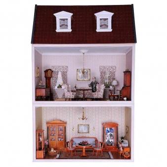 MODUL-BOX-HAUS mit Dachgauben