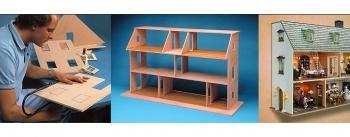 Bauanleitungen für Miniaturhäuser