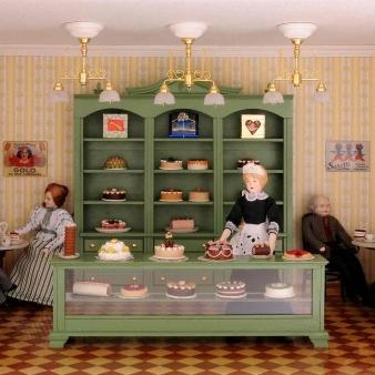 Bausatz-Set - Café und Konditorei - inklusive Lackdose