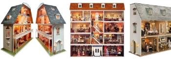 Miniaturhäuser / Puppenhäuser