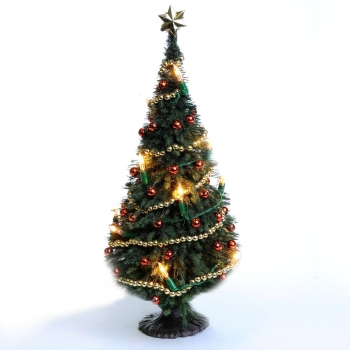Christmas tree string of lights