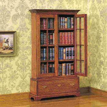 89 kleine antiquarische Bucheinbände