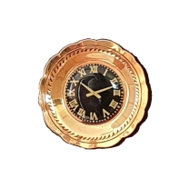 Wanduhr, Messing