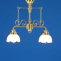 2-armige Deckenlampe, MiniLux
