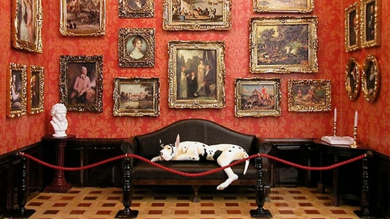 Große Ideen - Kleine Räume - Kleine Gemäldegalerie!