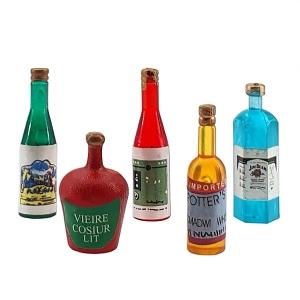 Spirituosen, 5 Flaschen
