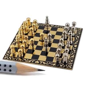 Schachbrett mit Schachfiguren