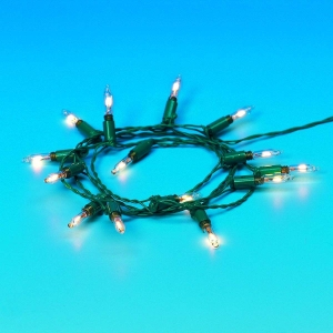 Christmas tree string of lights