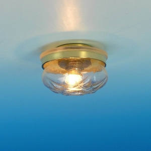 Ceiling lamp with crystal bell, MiniLux