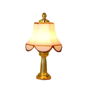 Table lamp with white shade, MiniLux