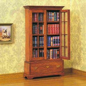 Chippendale Bücherschrank