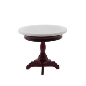 Caféhaus-Tisch, Marmorplatten-Imitation