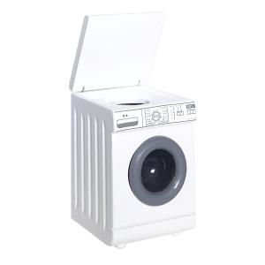 Washing machine, white
