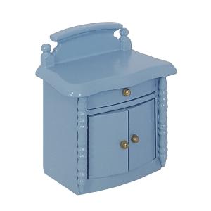 Bedside cabinet, blue