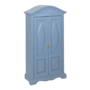 Wäscheschrank, blau
