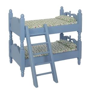 Bunk bed, blue