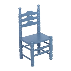 Stühle, blau, 2 Stück