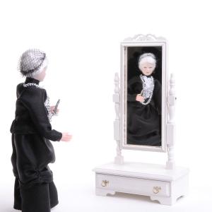 Chippendale Standspiegel