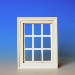 Lattice windows, white