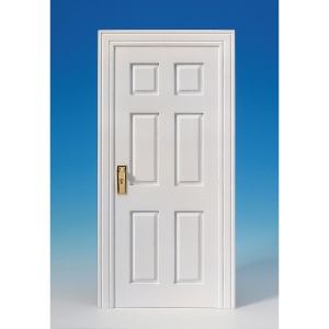 Mock door, white, ideal for the MODULE BOX
