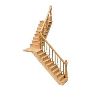 Angled staircase, 250 mm