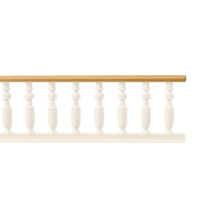 Rails for balcony banister