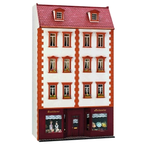 Construction manual - Little townhouse with shop floor