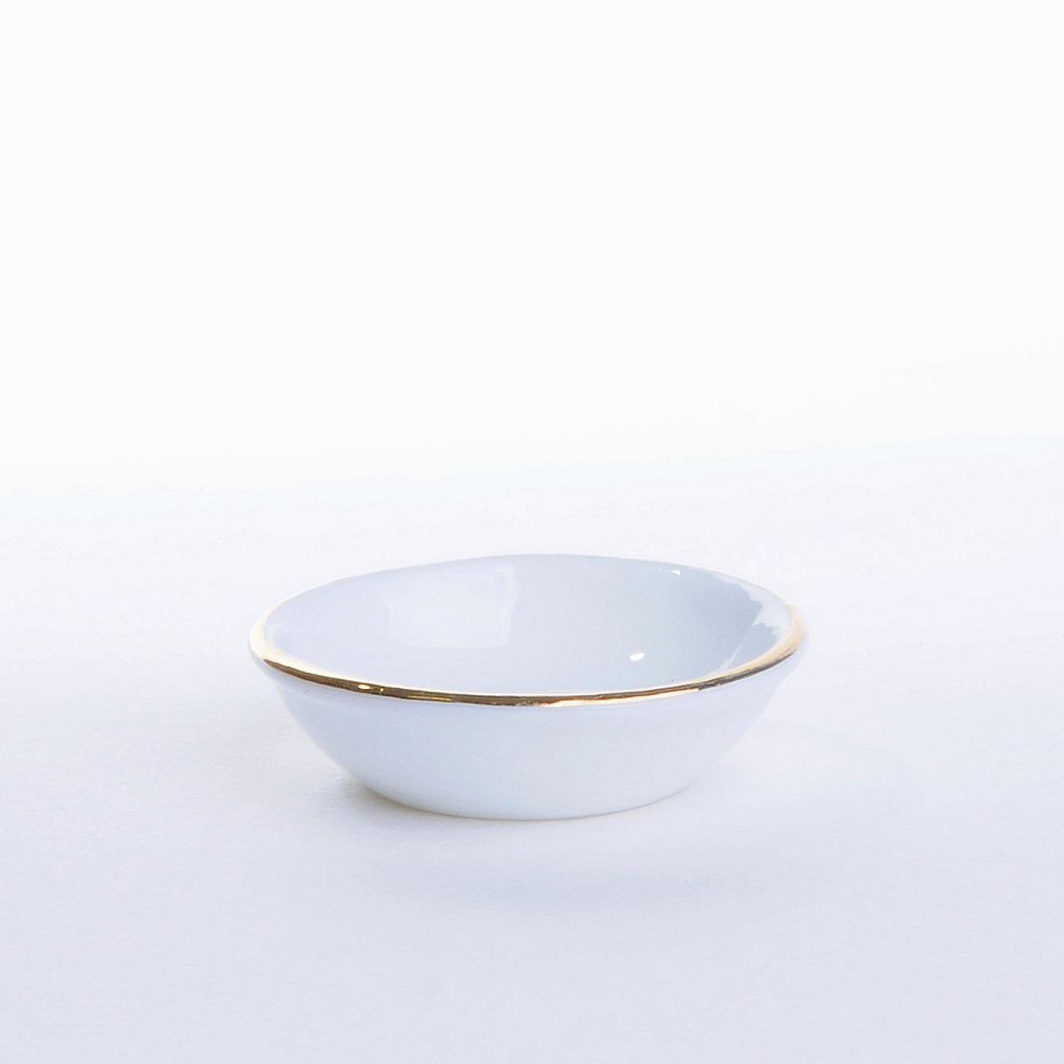 Waschschüssel mit Goldrand