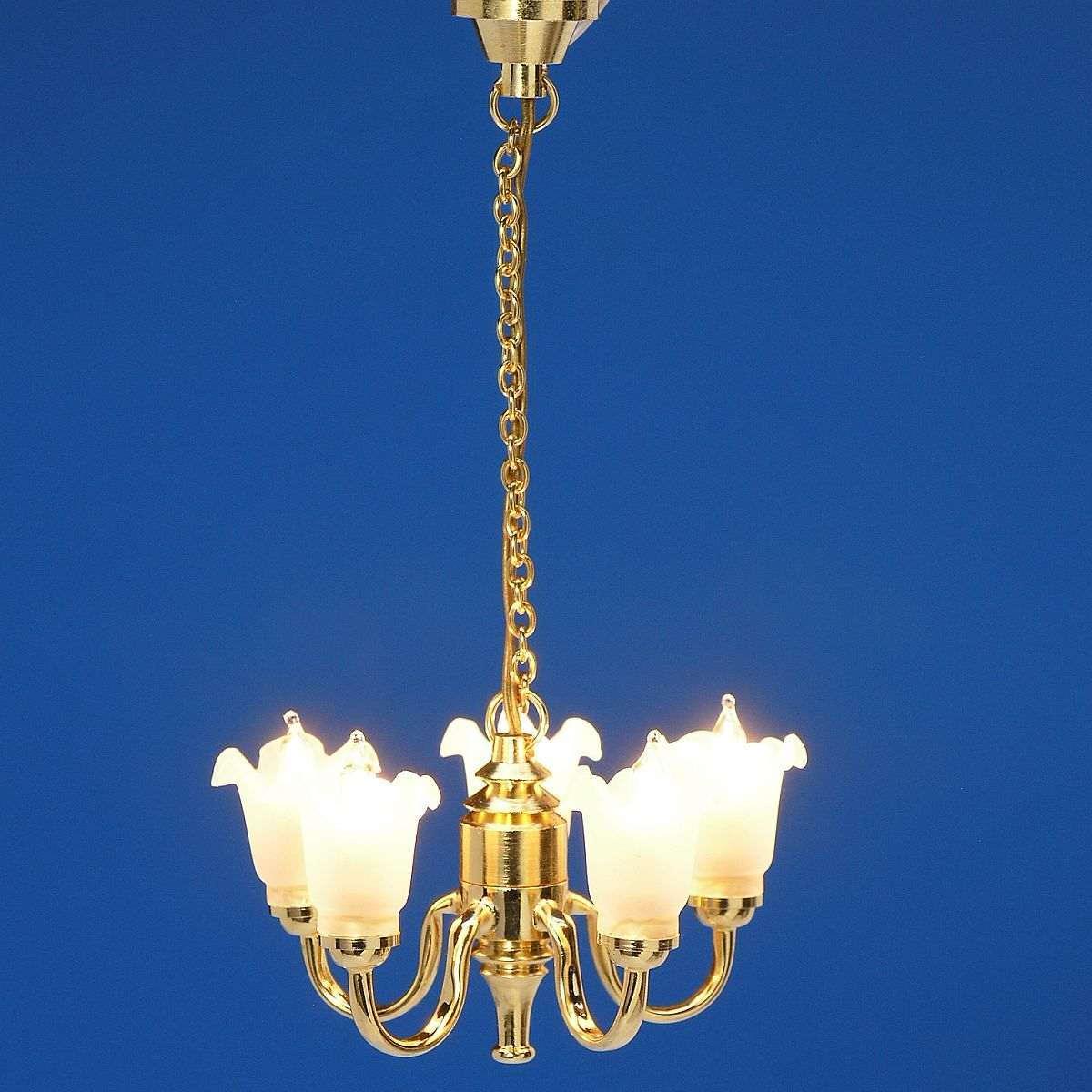5-lamp chandelier, MiniLux