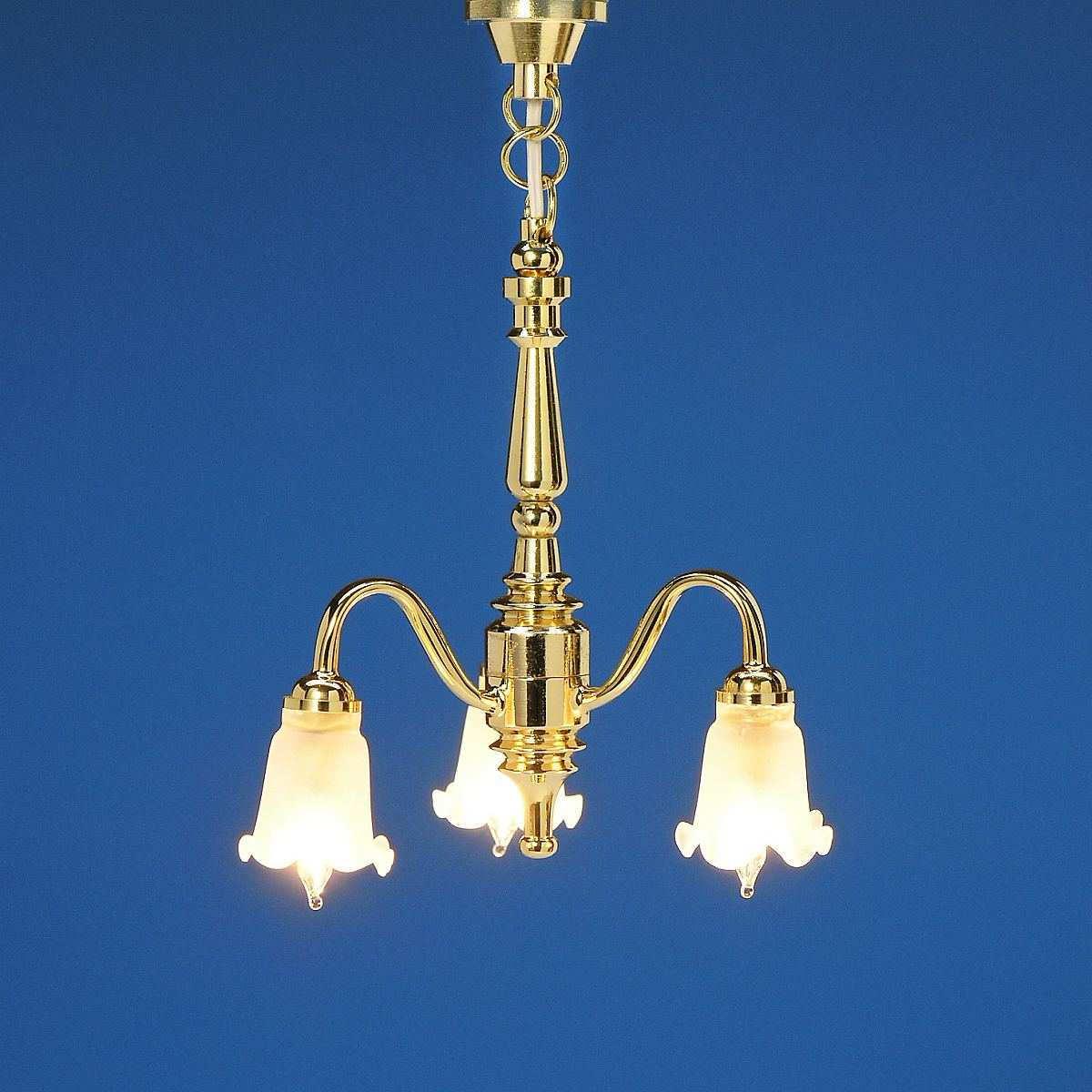 3-lamp chandelier, MiniLux