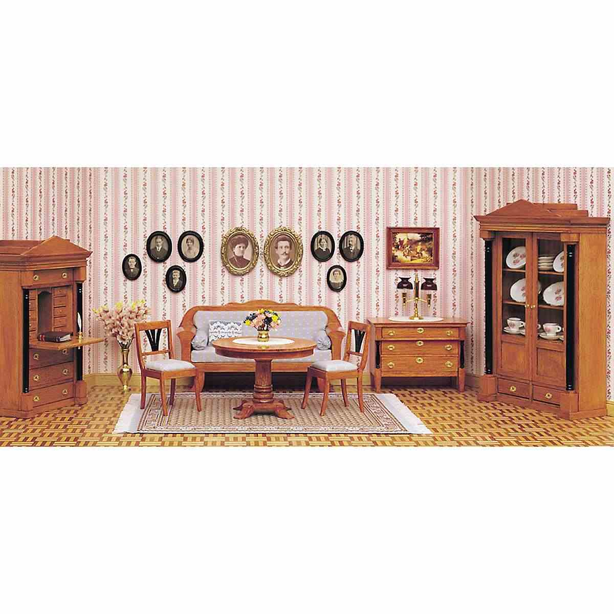 Complete set – Biedermeier room
