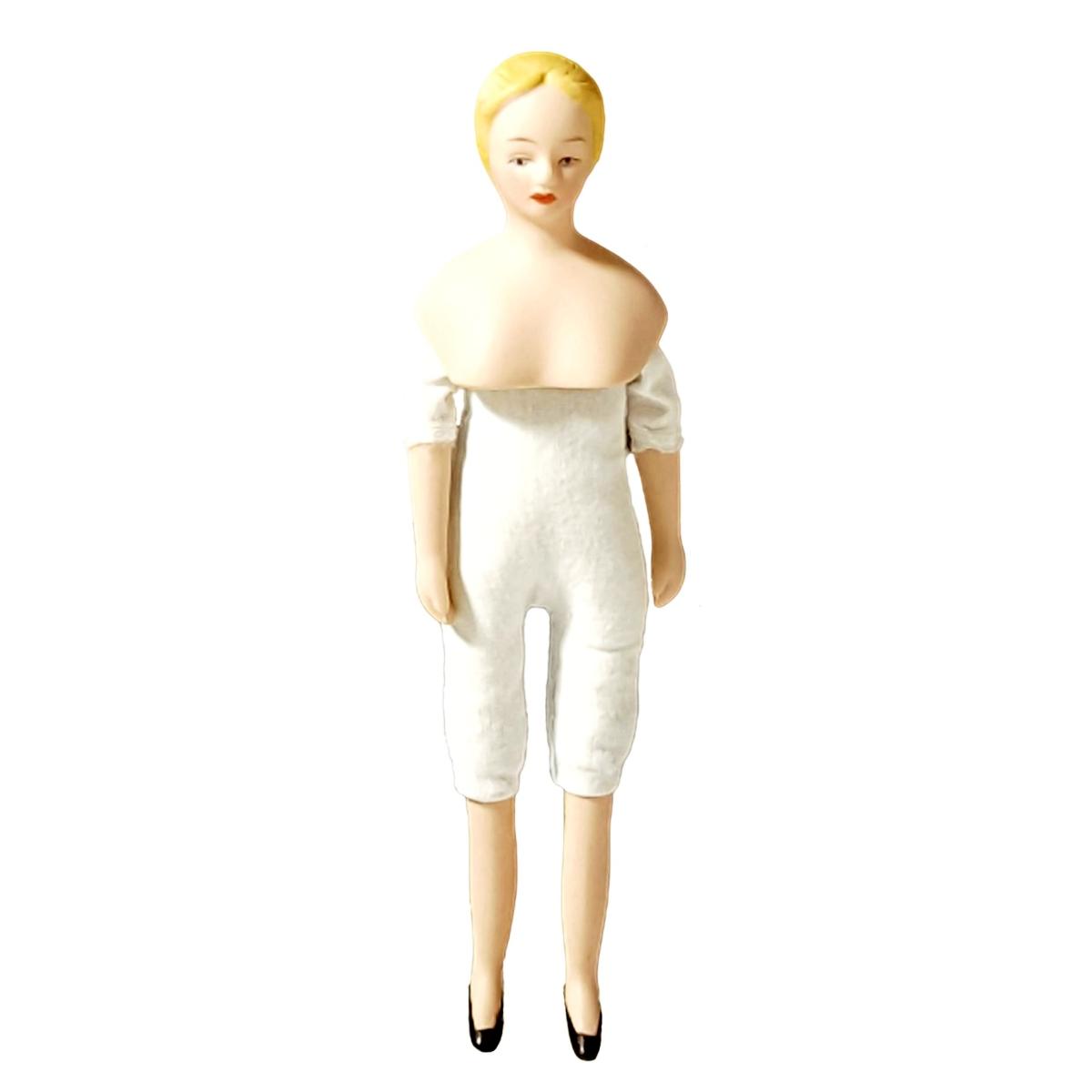 Dame mit Porzellankopf - ohne Bekleidung