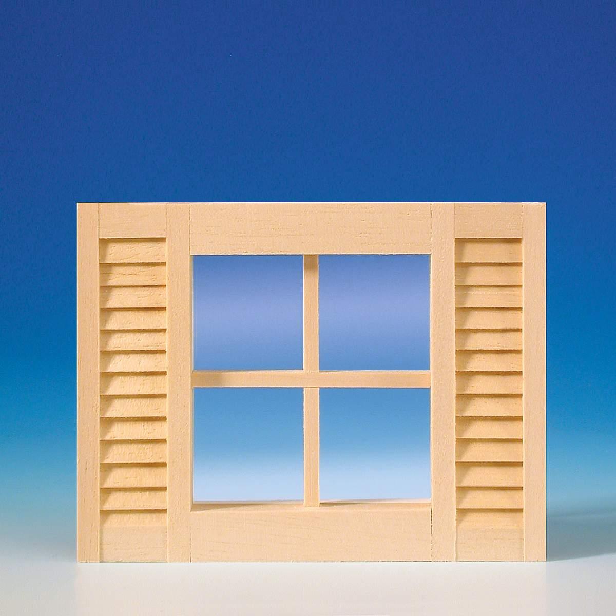 Window with lattices