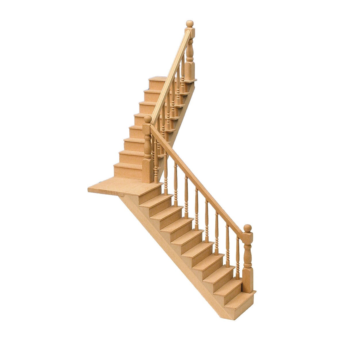 Angled staircase, 280 mm