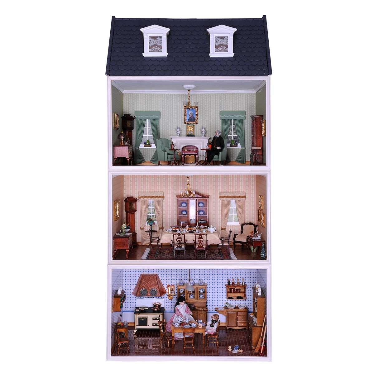 Großes MODUL-BOX-HAUS mit Dachgeschoss