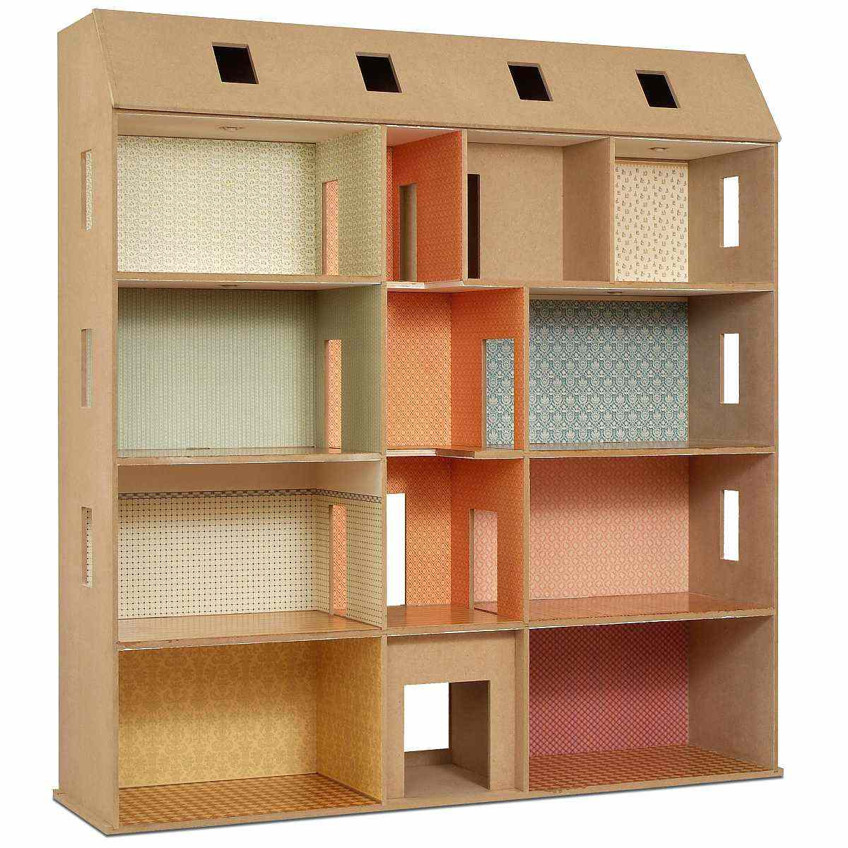 Large townhouse - MDF construction kit