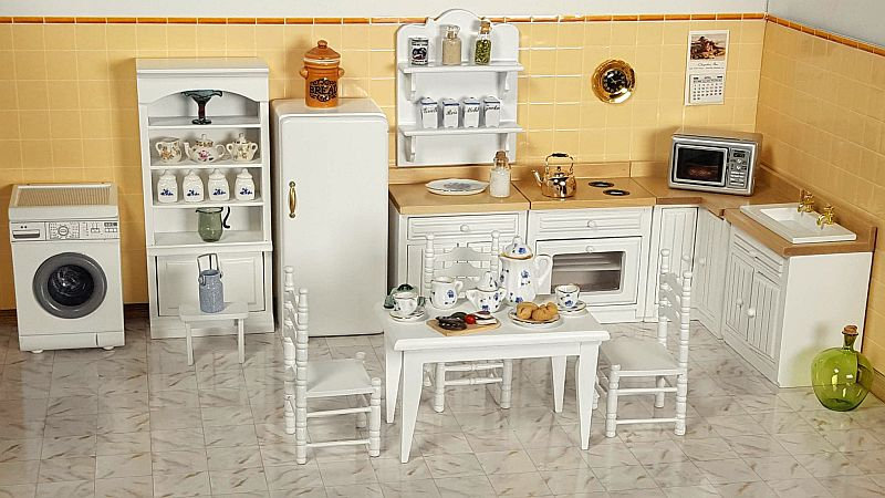 Set of finished furniture - Modern kitchen, consisting of 7 pieces of furniture!