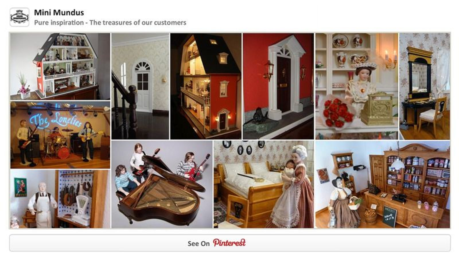 Let yourself be inspired by our gallery on Pinterest